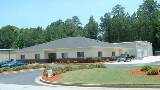 The office of our automotive dealer in Austell, GA.